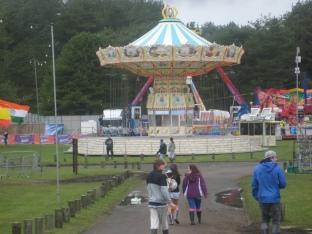 Deserted carousel